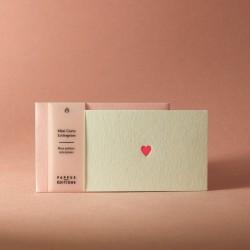 Mini carte coeur...