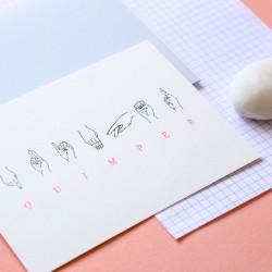 Carte Quimper Dactylologie...