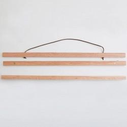 Porte affiche aimanté bois...