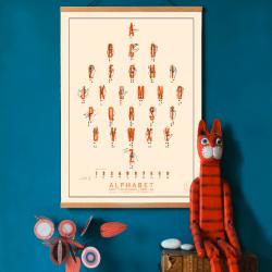 Affiche Alphabets...