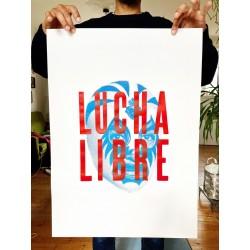 Affiche Lucha Libre...