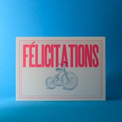 Carte Félicitations...