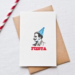 Carte Fiesta - Impression...
